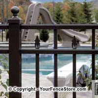 Ornamental Aluminum Fence by Ultra Aluminum