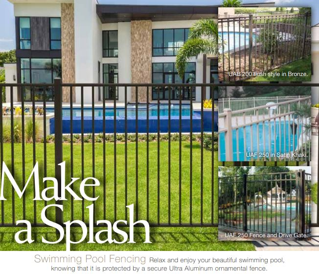 Swimming Pool Aluminum Fence