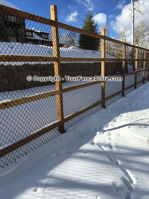 Fused Bonded Chain Link Fence And Pvc Coated Color