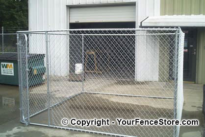 Dog Kennels In A Kit 10 X 10 X 20 Dog Kennel