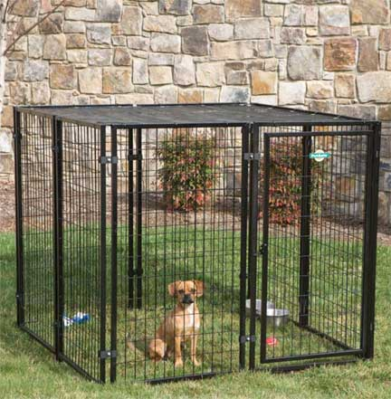 Cottageview Dog Kennel Panel System By Pet Safe Dog