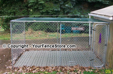 dog kennel deck and kennel floor: perfect choice for dog kennels
