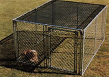 shade cover for dog kennel
