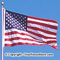 American flag kits - flagpole