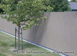 Lite Link Privacy Fence Wave Slat Ez Slat Bottom