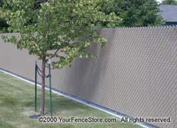 Lite Link Privacy Fence Wave Slat Ez Slat Bottom
