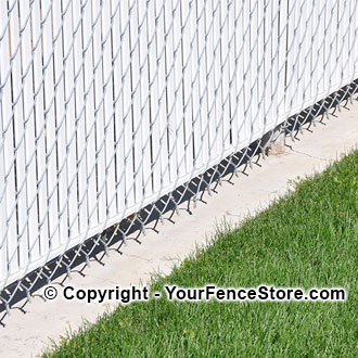 Mowstrip Fence Barrier For Grass And Weeds