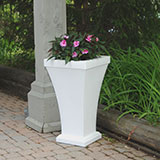 Bordeaux 28 inch Tall Patio Planter