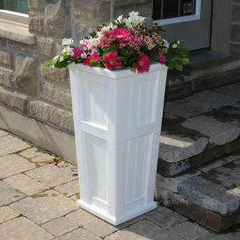 Cape Cod Tall Planter Box