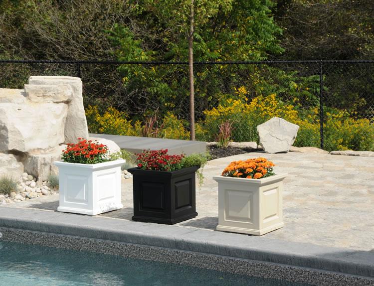 Attractive Nantucket Patio Planter Box Colors 5865. »
