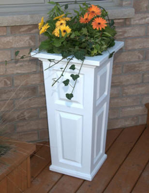 Nantucket Tall Patio Planter Box