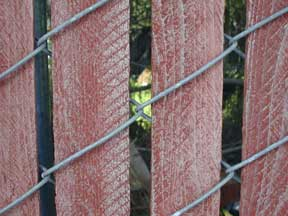 Industrial Privacy Slats For Chain Link Fence