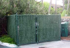 hedge link fence slats for chain link fence