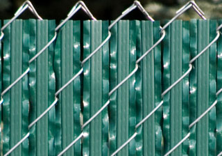 Close Up For The Ultimate Slat Privacy Fence