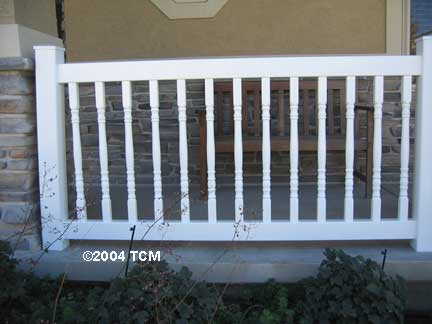 Colonial Pvc Deck And Railing