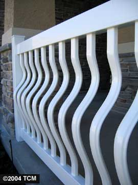 Orleans Belly Baluster Railing Kit In A Box