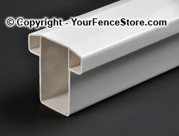 Vinyl Pvc Square Railing Kit For Porch And Decks