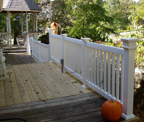 porch and deck railing system kits. Black Bedroom Furniture Sets. Home Design Ideas